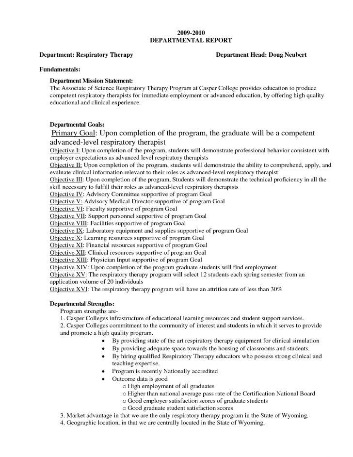Respiratory Therapist Resume Sample | Inspiredshares.com