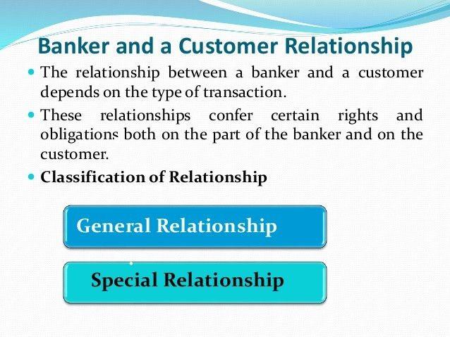 Banker & Cuctomer Relationship