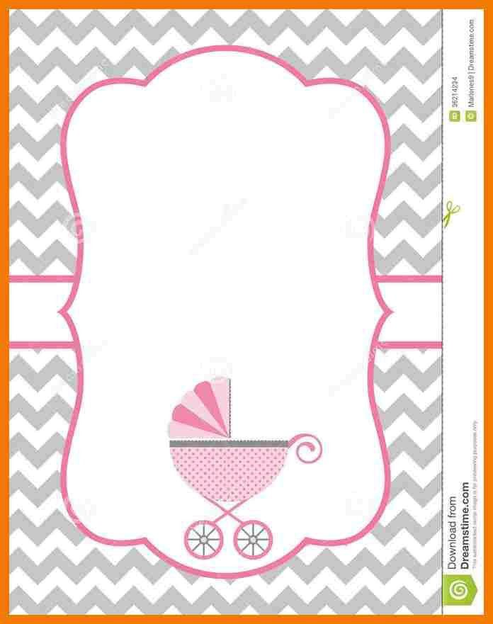 4+ baby shower invitations templates for word | mailroom clerk