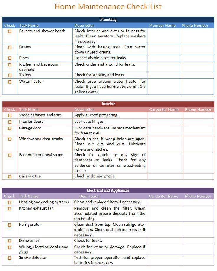 Best 25+ Home maintenance schedule ideas only on Pinterest ...