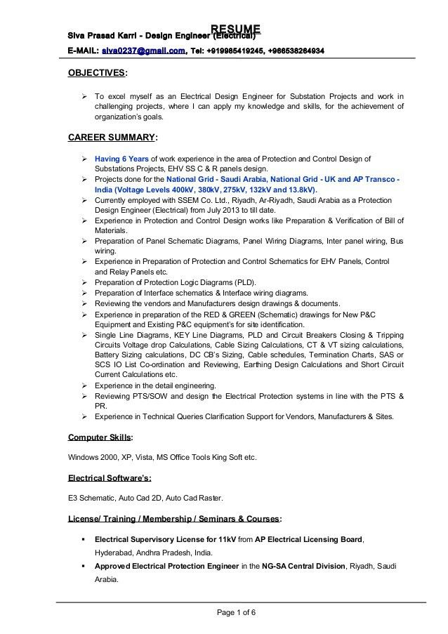 Download Board Design Engineer Sample Resume ...
