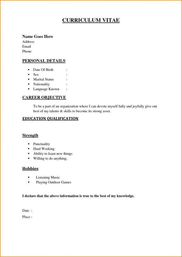 Resume : Interbay Funding Examples Of A Written Cv Tower ...