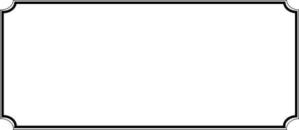 Admit one ticket clip art - Clipartix