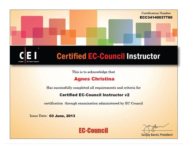Certified EC-Council Instructor - EC-Council