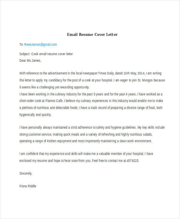 Email Resume Subject [Template.billybullock.us ]