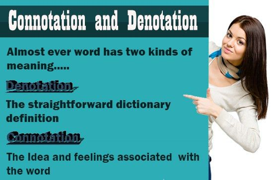 Connotation and Denotation - Definition, Words, Sentences, Neutral ...