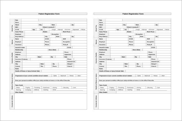 Patient Chart Template – 10+ Free Sample, Example, Format Download ...