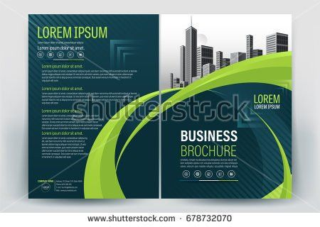 Modern Company Profile Template - Download Free Vector Art, Stock ...