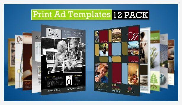 printing ads templates