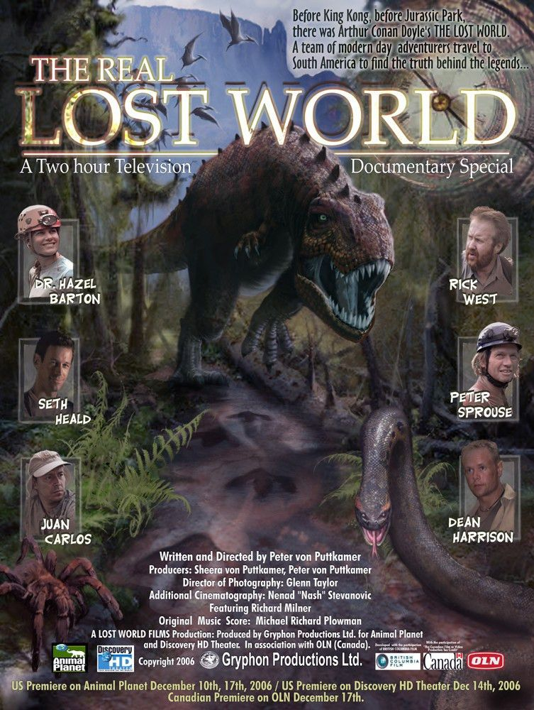 Cryptomundo » Lost World Is Coming