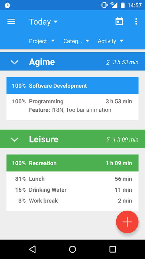 Agime - time sheet - Android Apps on Google Play
