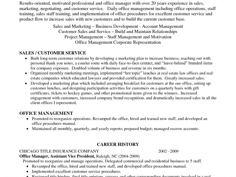 professional profile resumes