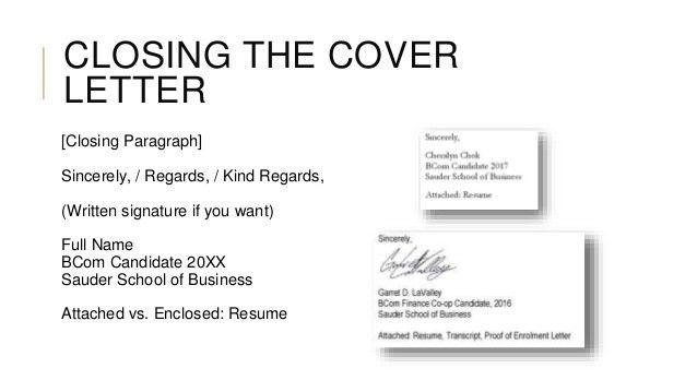 Cover Letter Edit