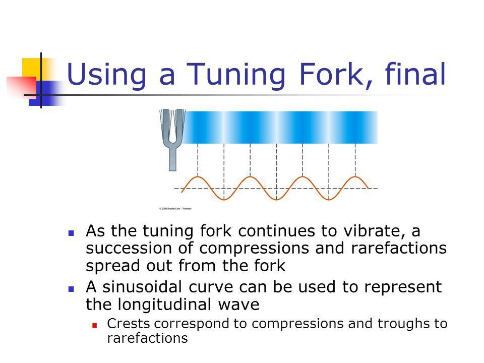 Chapter 14 Sound. Producing a Sound Wave Sound waves are ...