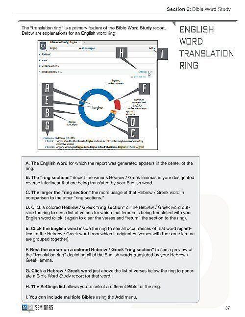 Logos 6: Training Manual Volumes 1 & 2 (Digital) - Logos Bible ...