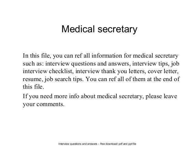 Medical Receptionist Cv Example Icover Org Uk