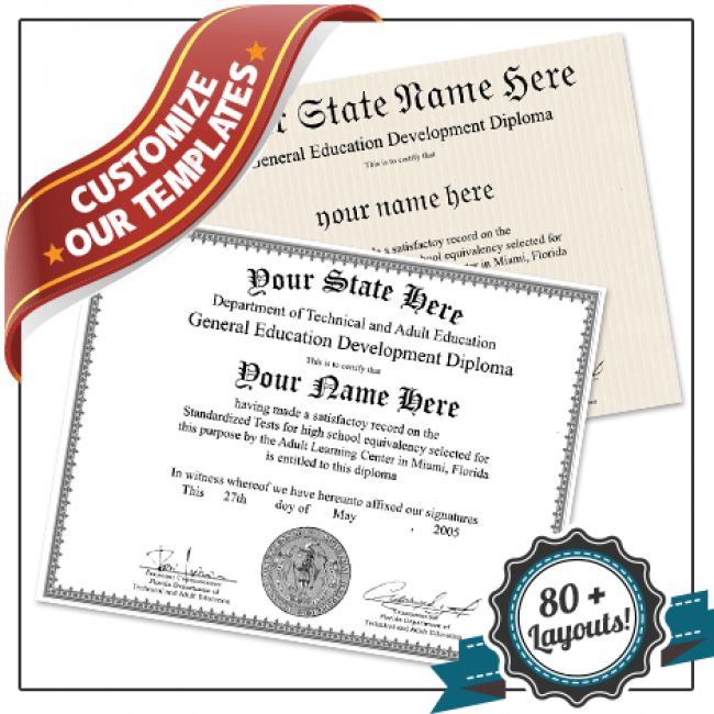 Free Ged Templates. fake ged diploma template all 50 us states ...