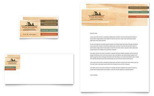 Construction Letterheads | Templates & Designs