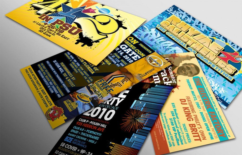 Postcards, Brochures & Flyers | New York & New Jersey Quality ...