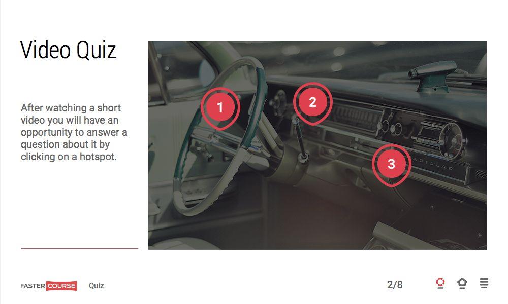Lectora templates - interactive quiz templates set - Minimal ...