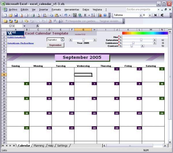 Excel Calendar Templates | Excel Templates