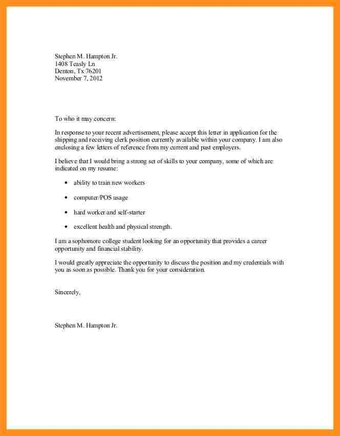 6+ cv cover letter sample doc | fillin resume