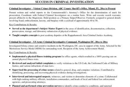 RSVPaint Resume objective business major RSVPaint, Criminal ...