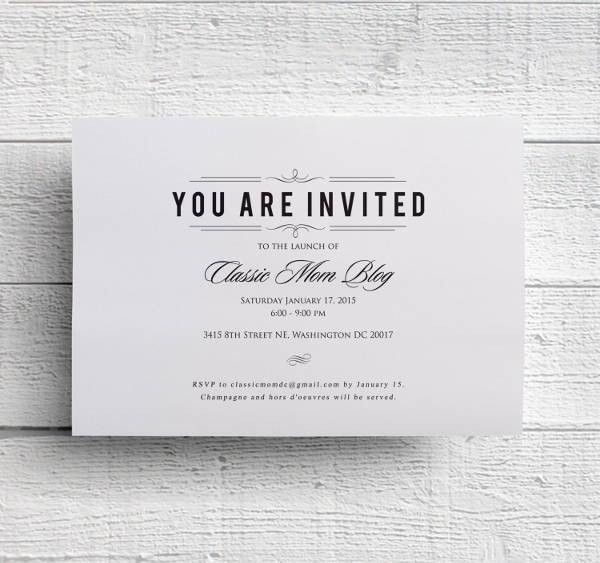 36 Dinner Invitation PSD Templates | Free & Premium Templates
