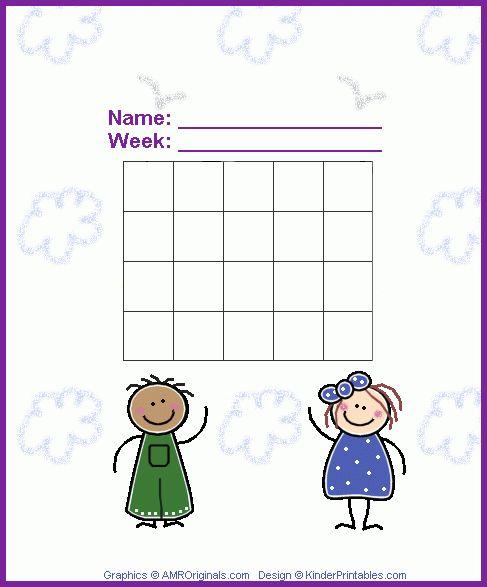 Kinder Printables :: Early Childhood Printables :: Free Learning ...