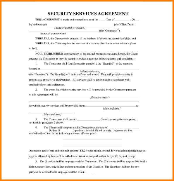 Service Agreement. Amazing Service Agreement Template Images ...