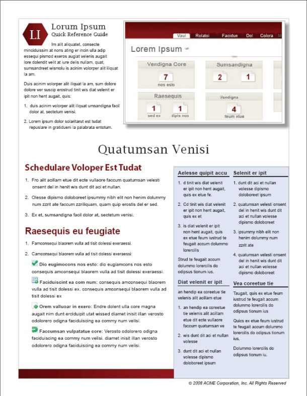 Quick Reference Guides: Short and Sweet Documentation | I'd Rather ...