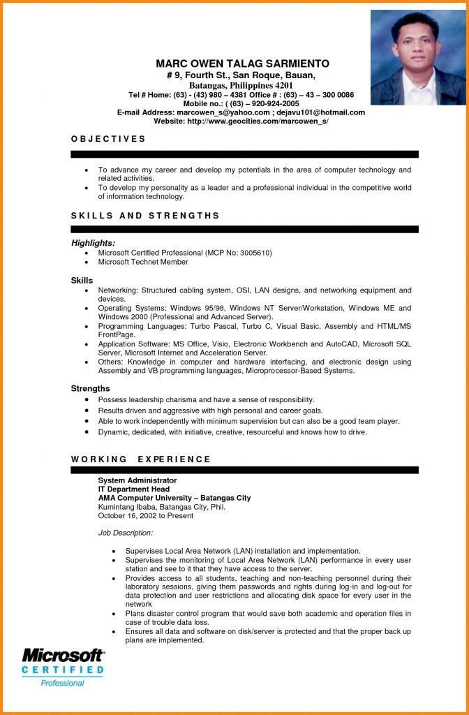 Resume Sample For Ojt Automotive. Resume. Ixiplay Free Resume Samples