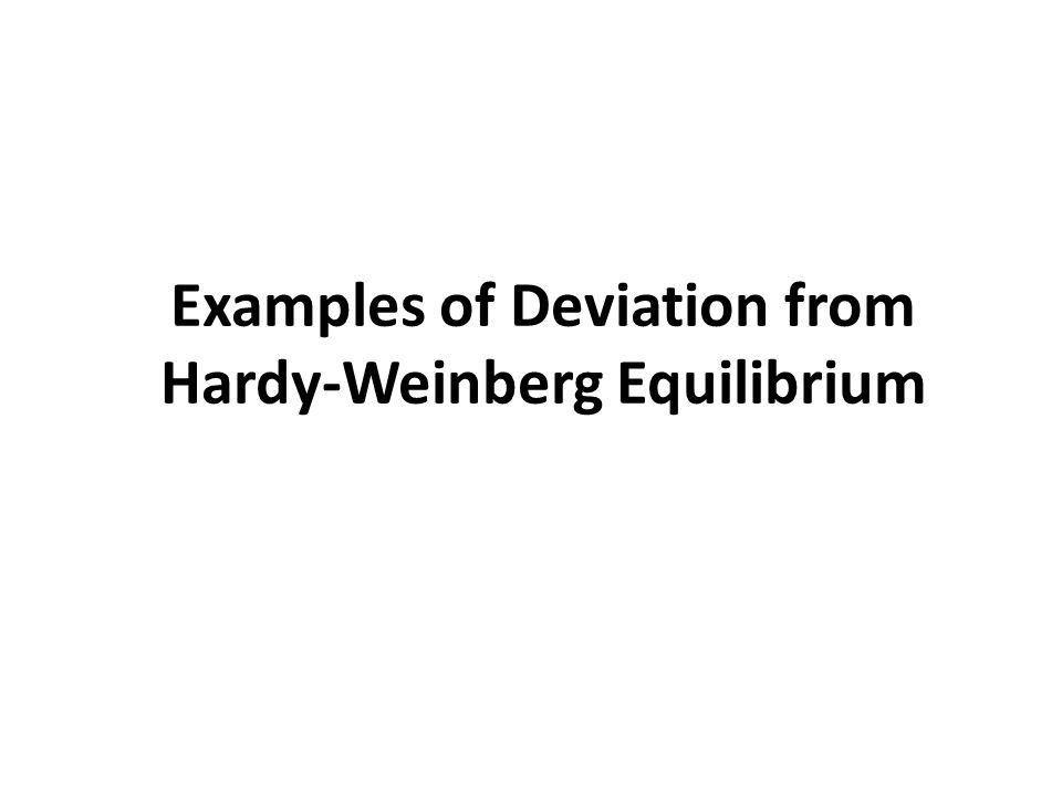 Hardy Weinberg Equilibrium Wilhem Weinberg (1862 – 1937) Gregor ...