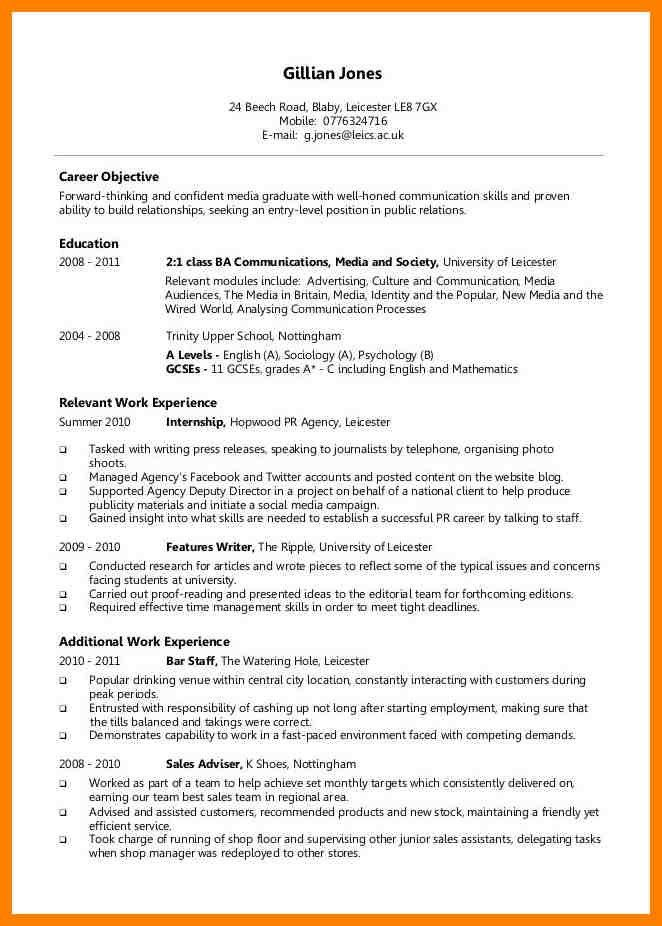 6+ correct resume format | addressing letter