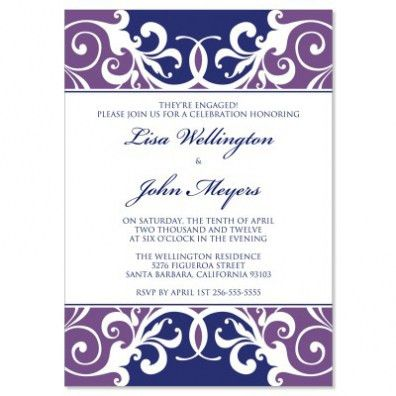 Engagement Party Invitation Templates Trends In 2017 | THEWHIPPER.COM
