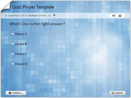 Download Quiz/Survey Player Templates for Wondershare QuizCreator