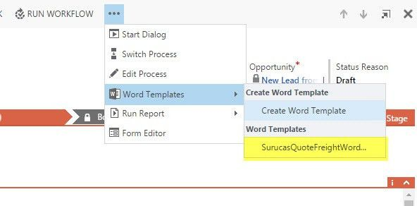 Creating Freight Quote Templates in Word - Surucas