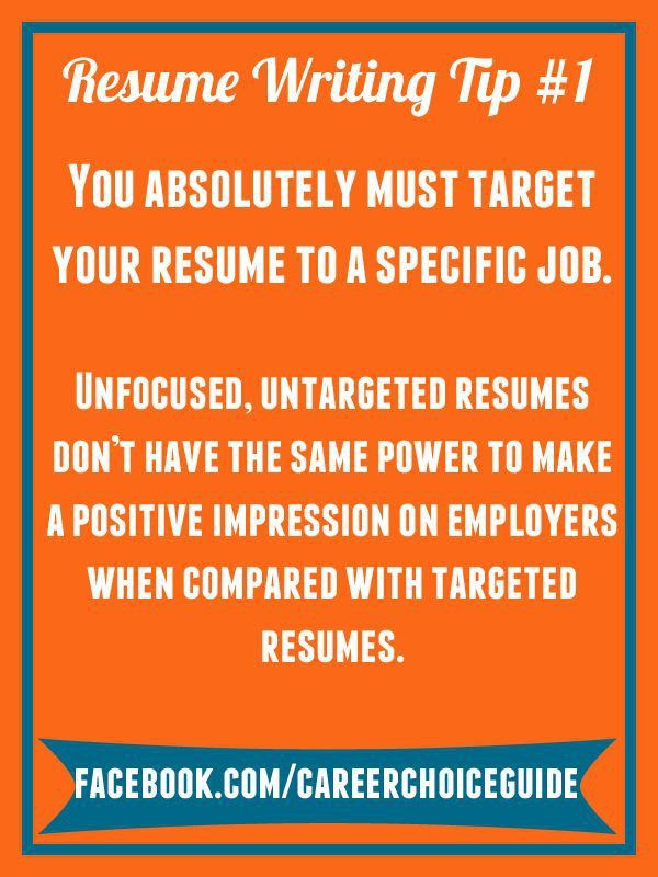 14 best resume images on Pinterest | Resume tips, Cover letters ...