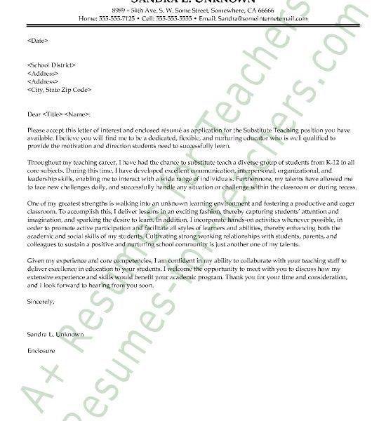 Cover Letter Teacher, 81 best teacher and principal cover letter ...
