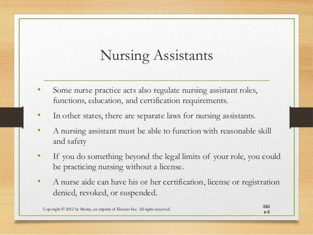 Ch 3 The Nurse Assistant