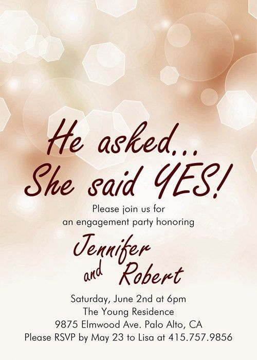 best ceremony engagement invitation cards perfect modern ...