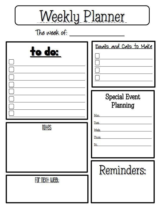 Best 25+ Teacher planner free ideas on Pinterest | Teacher planner ...