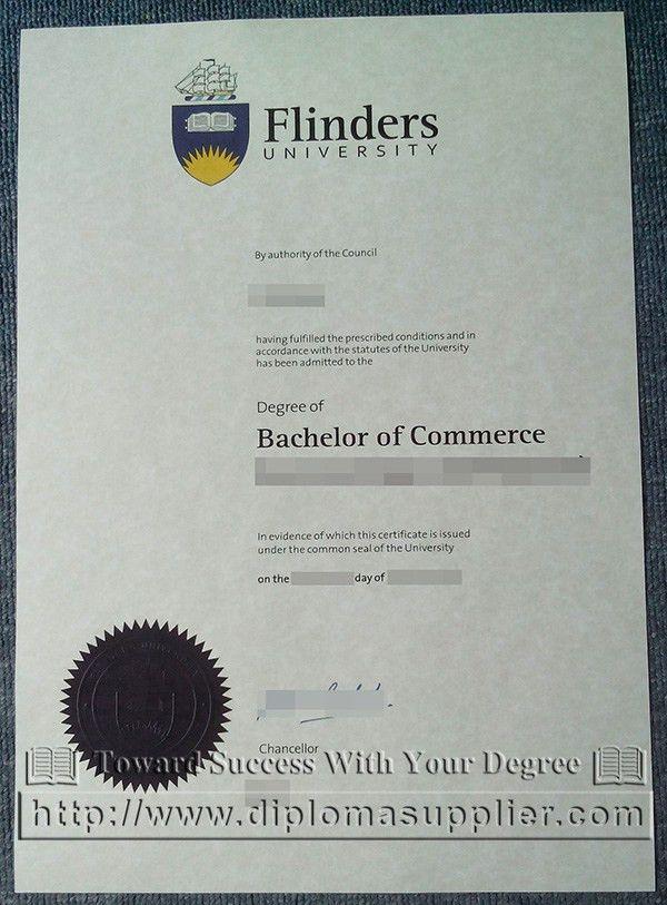 La Trobe University degree certificate, La Trobe University ...