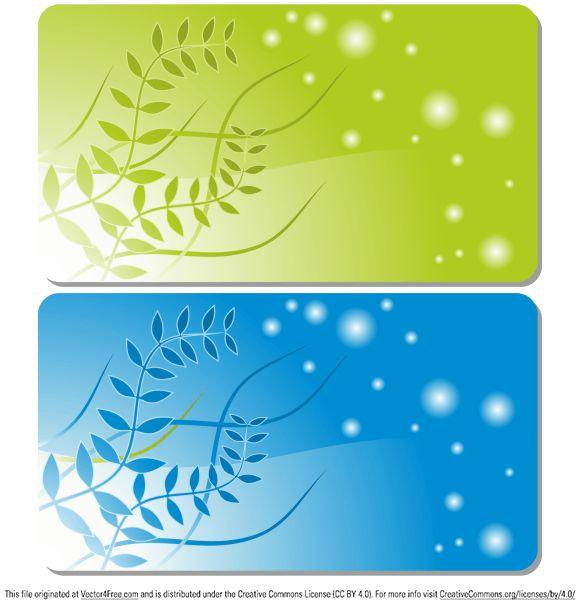 Business Card Templates - Free Vector Art