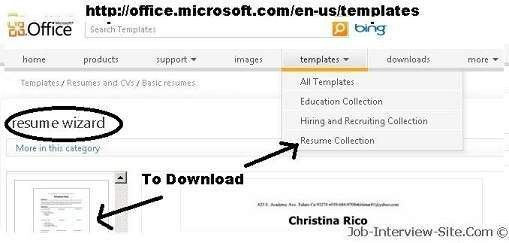 Resume Templates for Microsoft Word: Creating a Resume on ...
