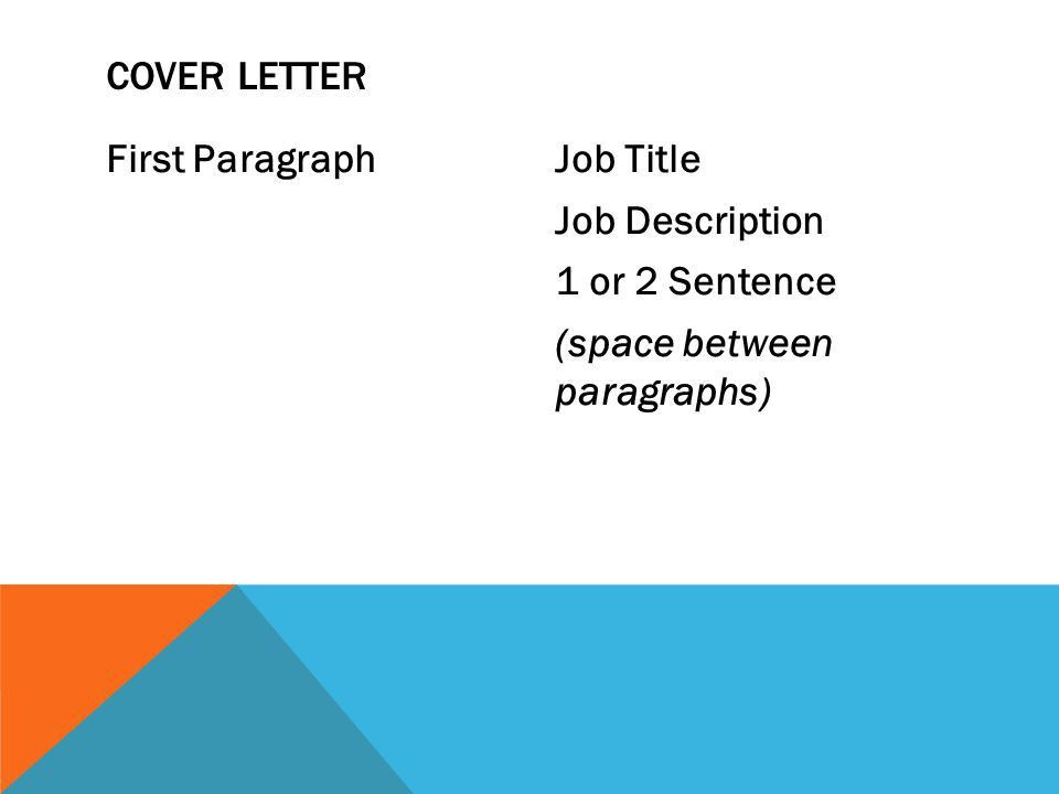cover letter types