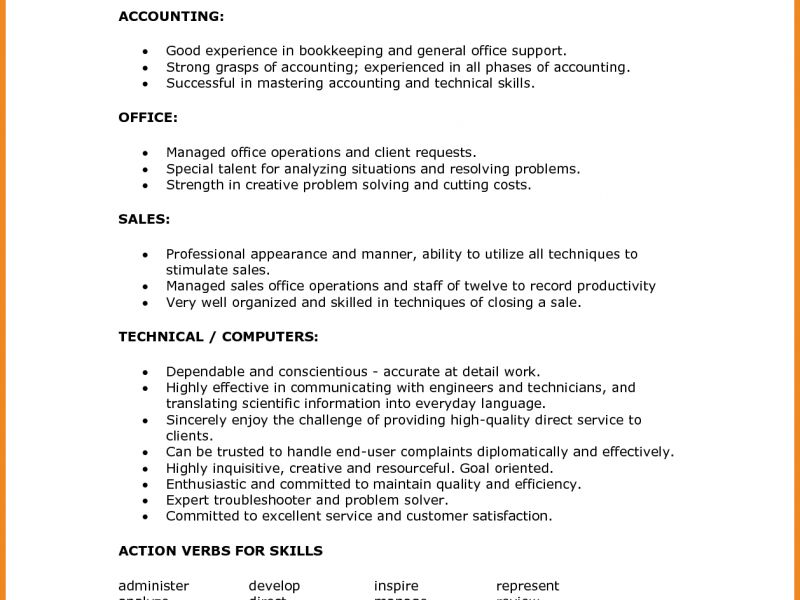 First-Rate Resume Technical Skills 5 Resume Soft Skills - CV ...