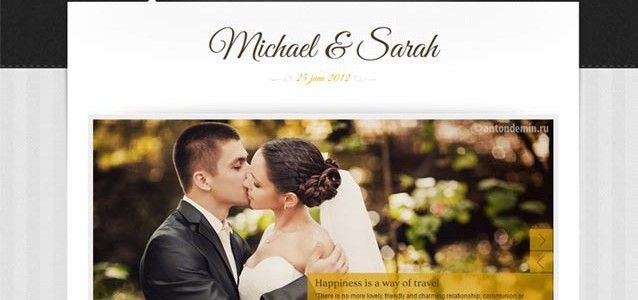 Premium Wedding Website Templates