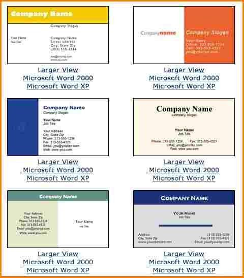 10+ blank business card template microsoft word | wedding spreadsheet