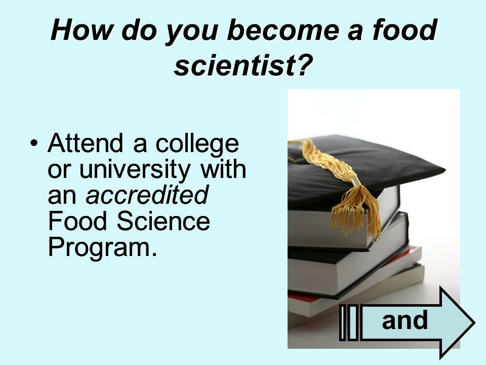 1 Food Science & Technology Presentation prepared by Alice F ...